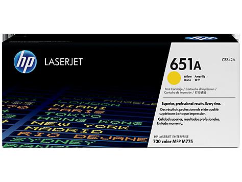 CE342A - Mực máy in HP M775 HP 651A Cyan Original LaserJet Toner Cartridge