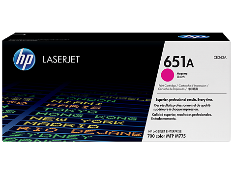 CE343A-Mực máy in HP M775 HP 651A Cyan Original LaserJet Toner Cartridge
