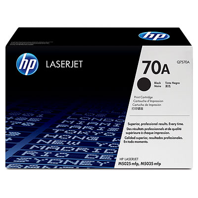 Mực in HP 70A Black LaserJet Toner Cartridge (Q7570A)