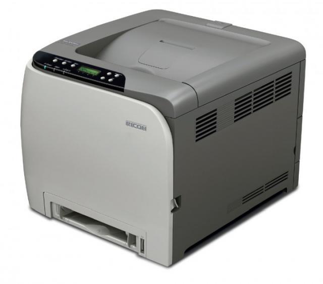 Máy in Ricoh SP C242DN laser màu ( In mạng – In 2 mặt)