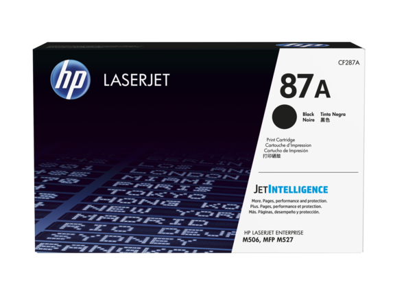 Mực in HP 87A Black Toner Cartridge (CF287A)